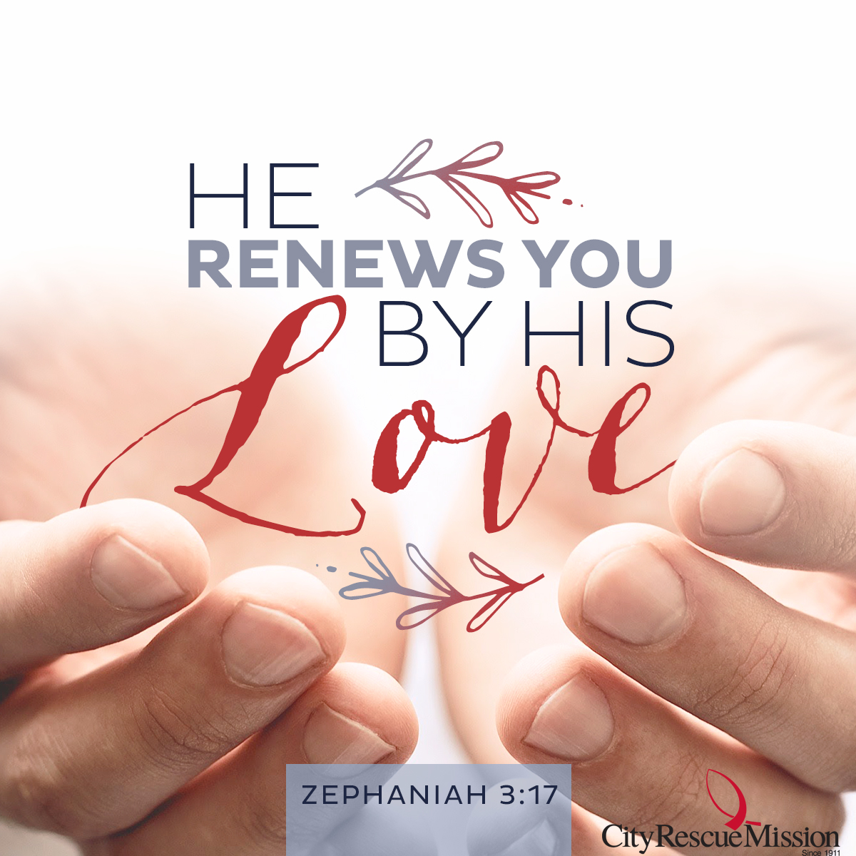 He Renews You by His Love